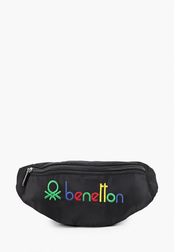 поясные сумка united colors of benetton малыши, черная