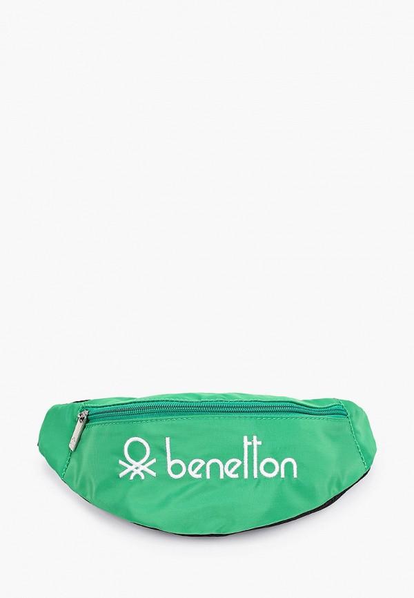 сумка united colors of benetton малыши, зеленая