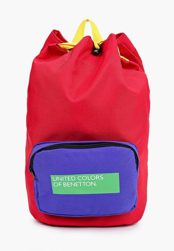 рюкзак united colors of benetton малыши, красный
