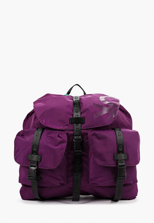 мужской рюкзак united colors of benetton, фиолетовый