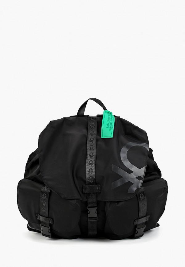мужской рюкзак united colors of benetton, черный