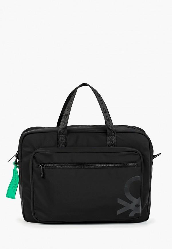 Фото - мужскую сумку United Colors of Benetton черного цвета