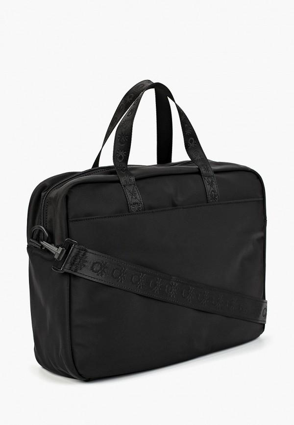 Фото 2 - мужскую сумку United Colors of Benetton черного цвета