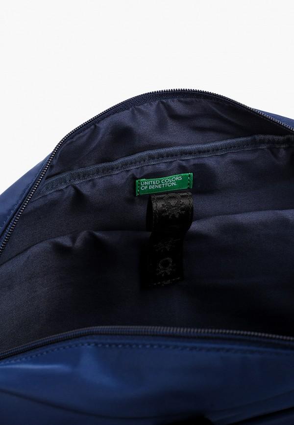 Фото 3 - мужскую сумку United Colors of Benetton синего цвета