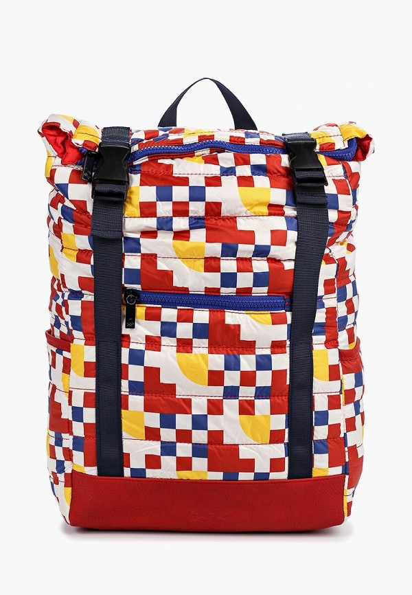 мужской рюкзак united colors of benetton, разноцветный