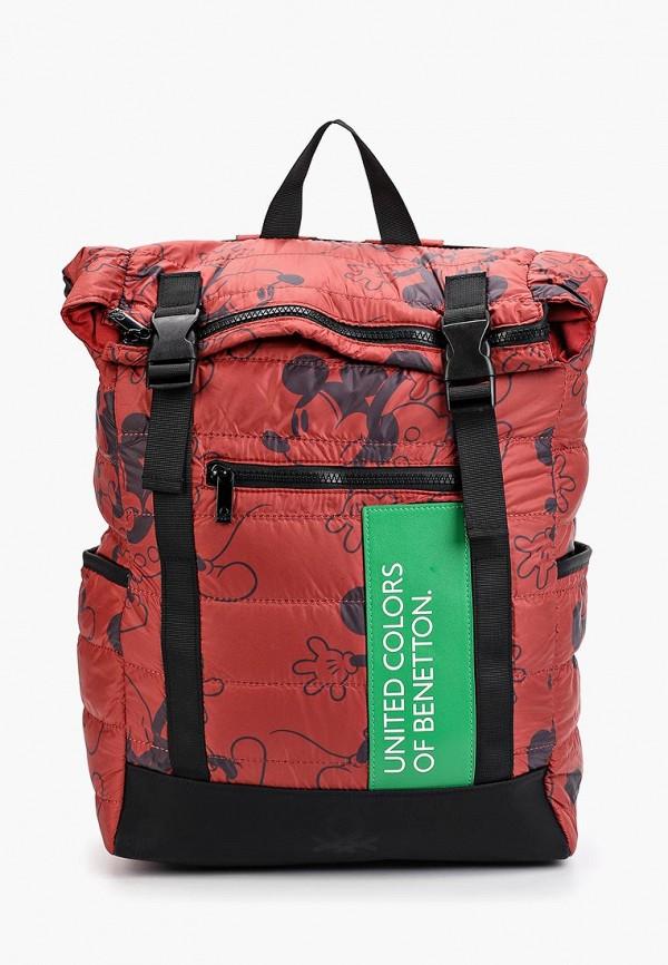 мужской рюкзак united colors of benetton, красный