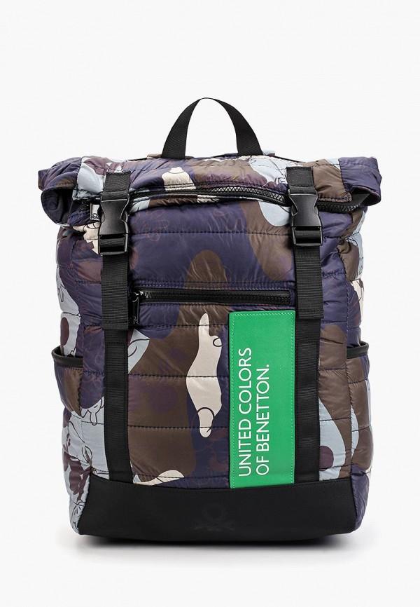 мужской рюкзак united colors of benetton, синий
