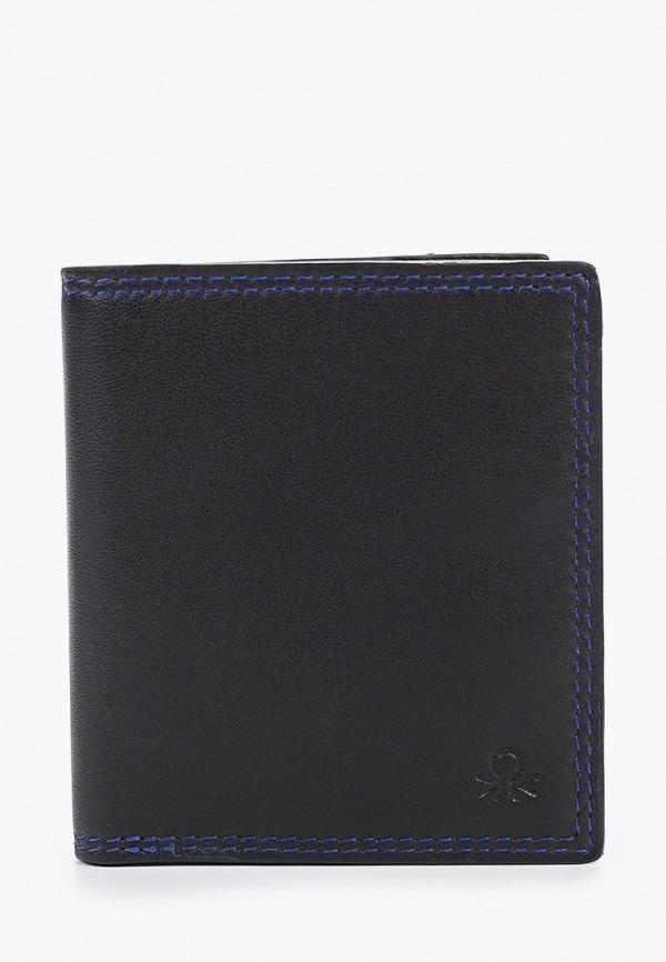 мужской кошелёк united colors of benetton, черный