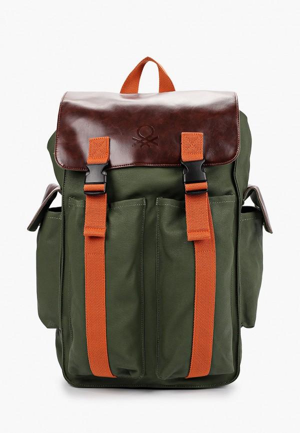 мужской рюкзак united colors of benetton, хаки