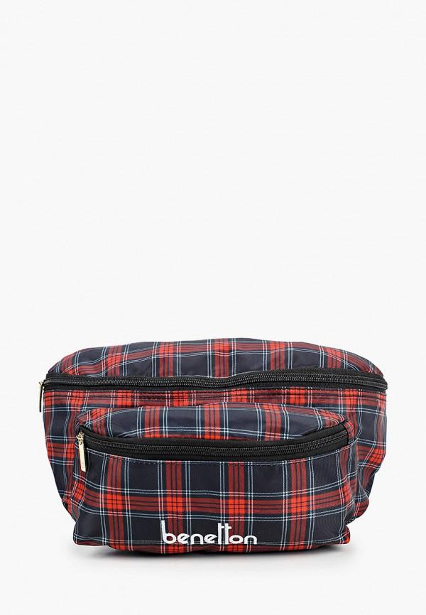мужская сумка united colors of benetton, разноцветная