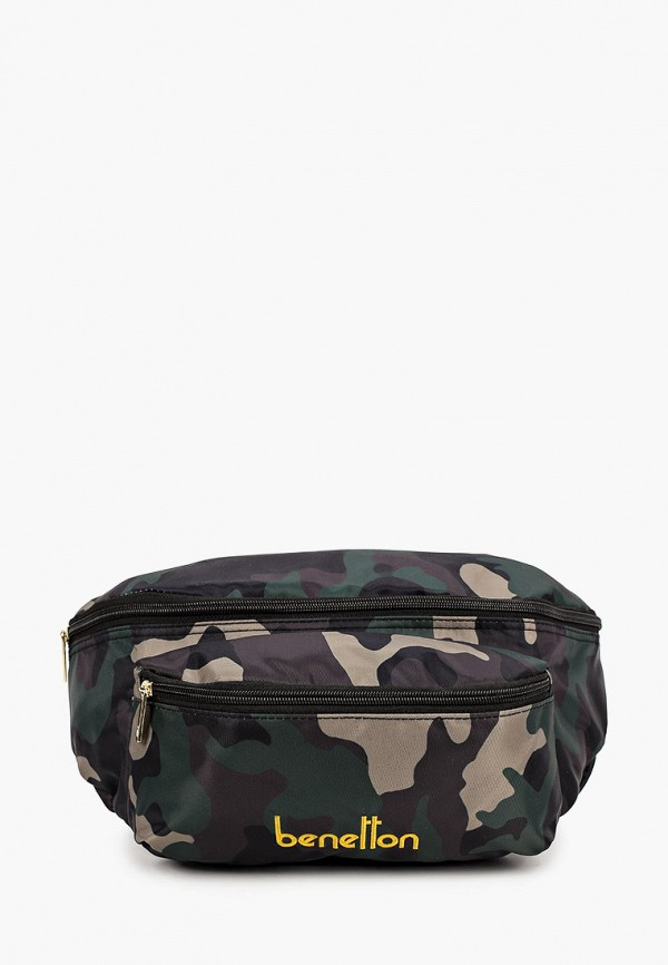 мужская поясные сумка united colors of benetton, хаки