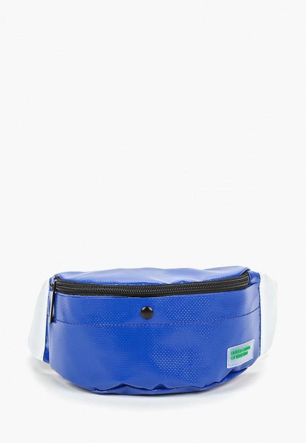 женская сумка united colors of benetton, синяя