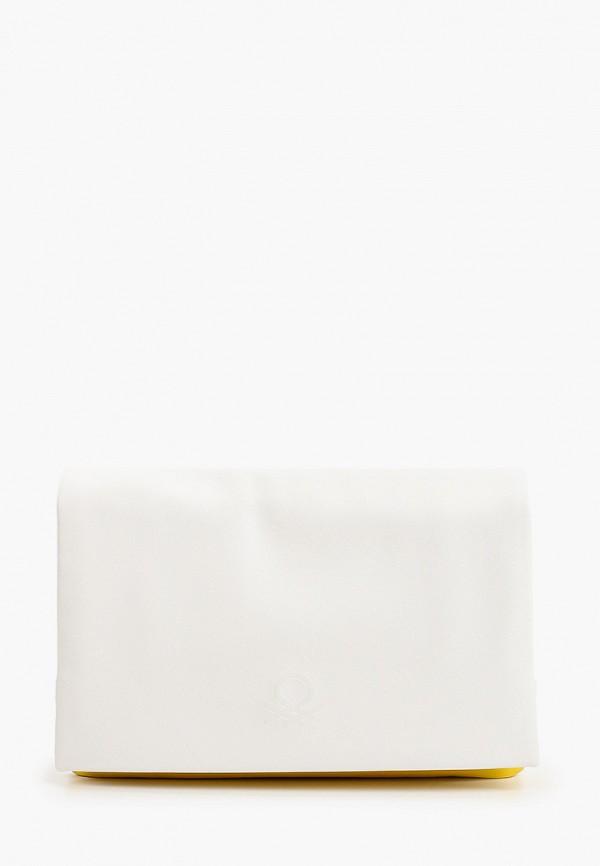женская сумка united colors of benetton, белая