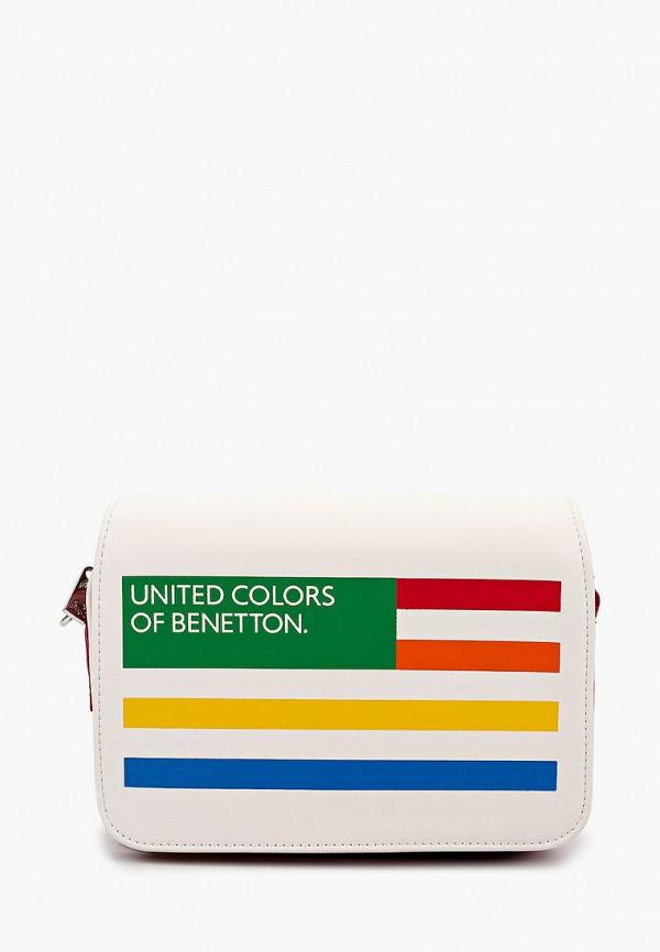женская сумка united colors of benetton, разноцветная