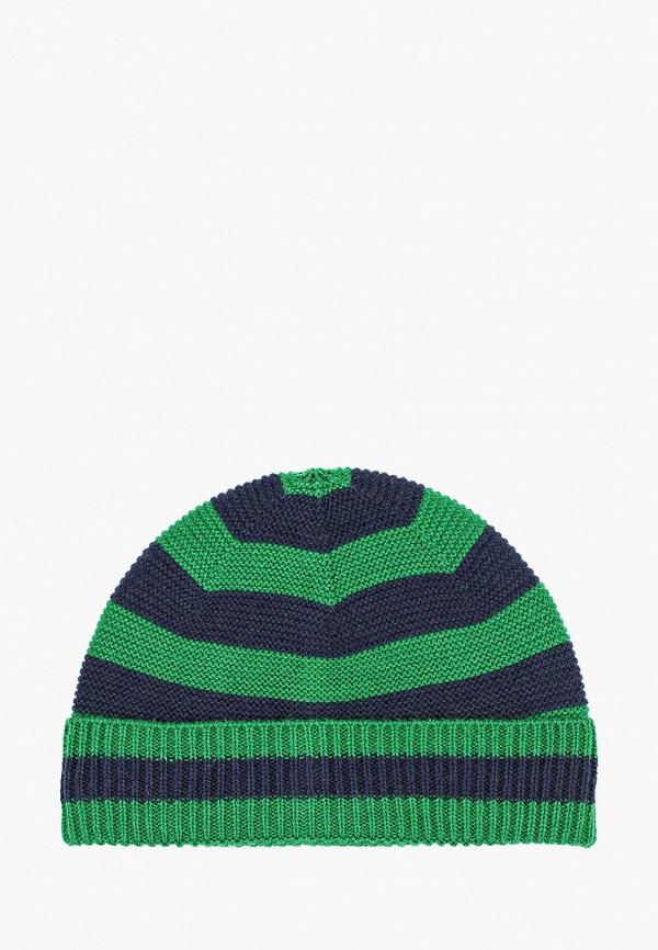 шапка united colors of benetton для мальчика, зеленая