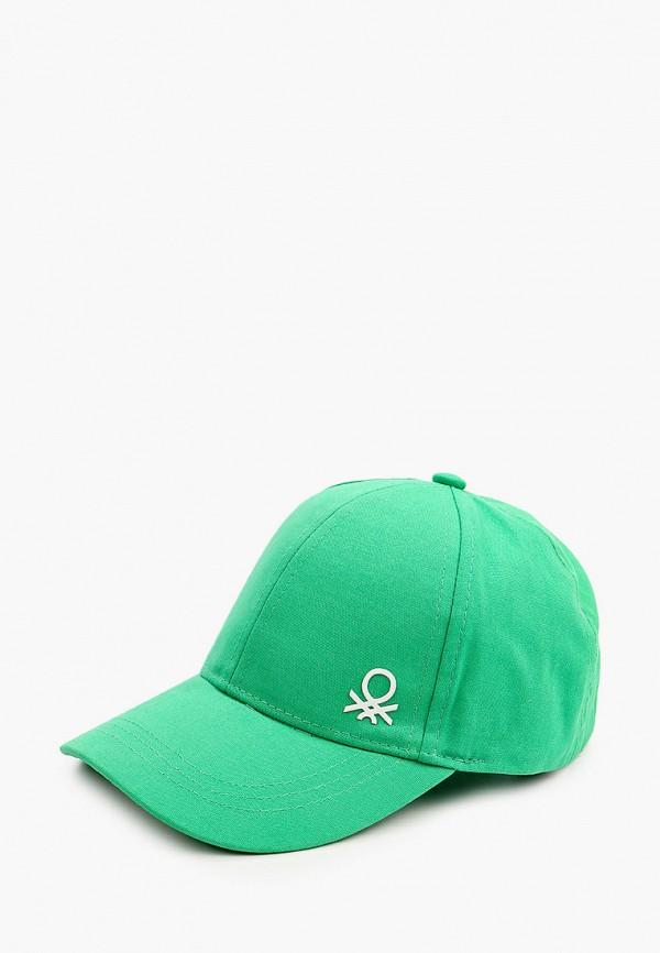 бейсболка united colors of benetton для мальчика, зеленая