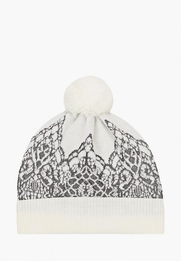 шапка united colors of benetton для девочки, белая