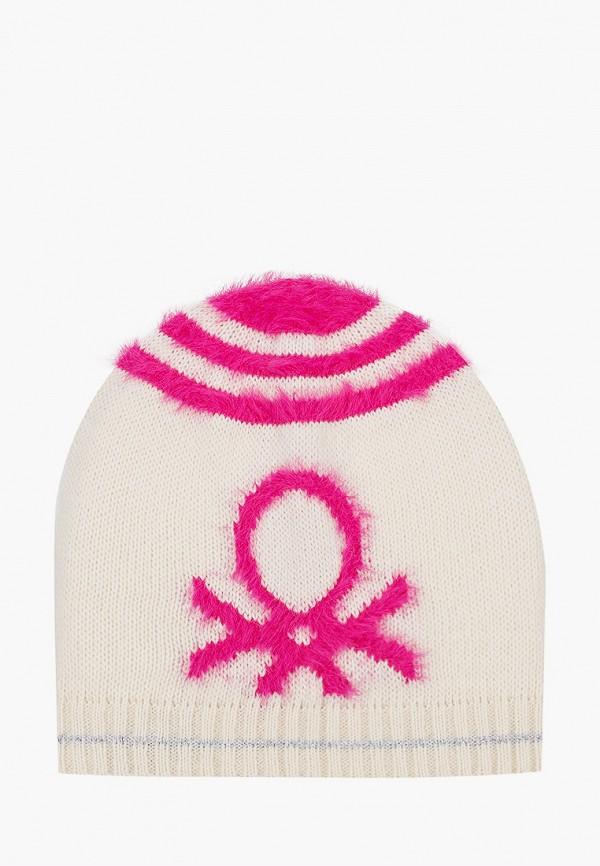 шапка united colors of benetton для девочки, бежевая