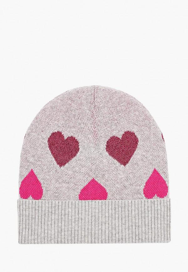шапка united colors of benetton для девочки, серая