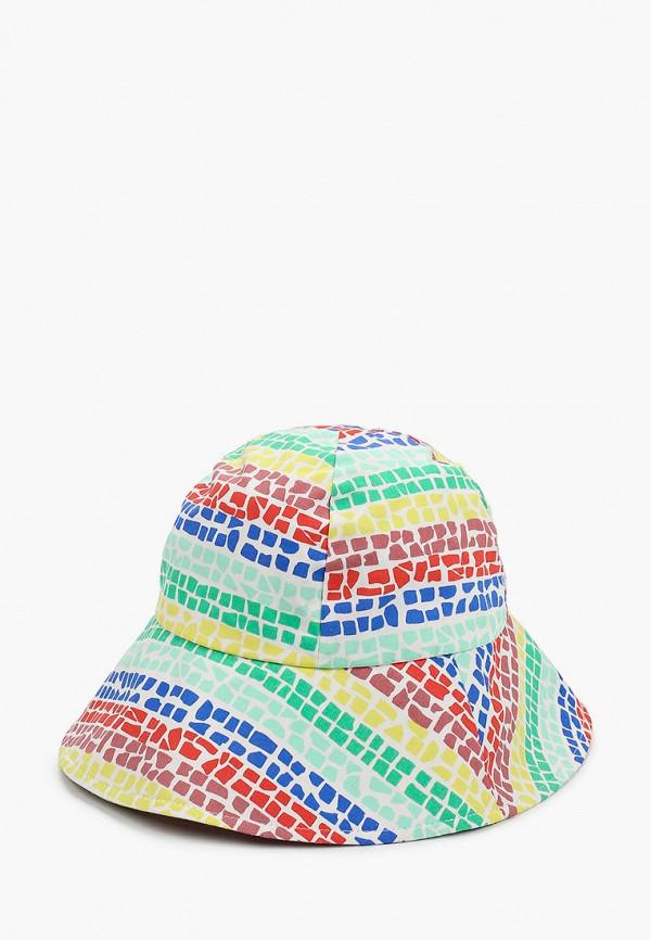 панама united colors of benetton для девочки, разноцветная