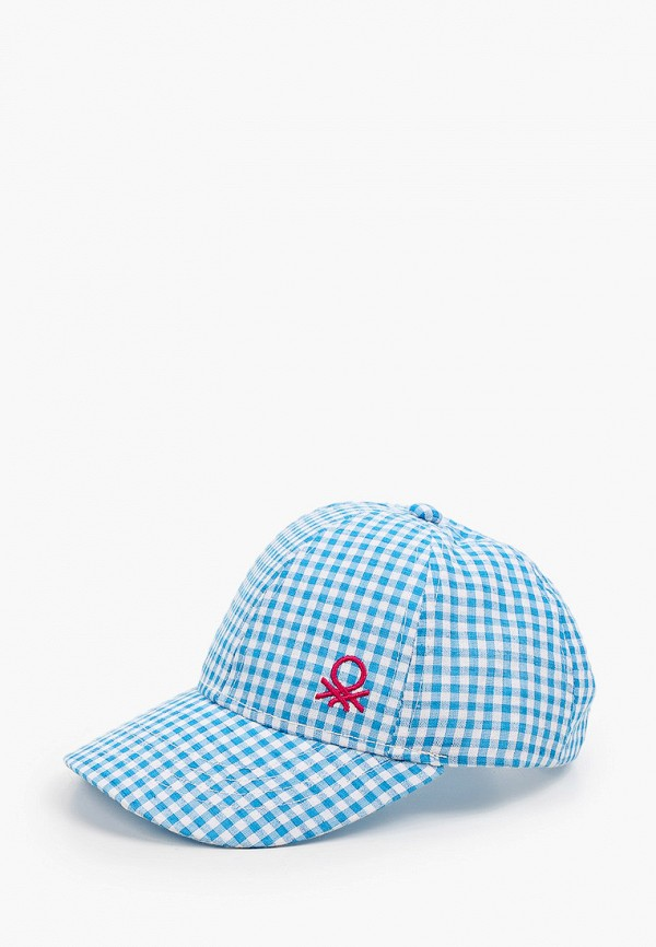 бейсболка united colors of benetton для девочки, голубая