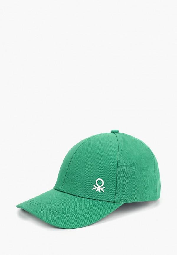 бейсболка united colors of benetton малыши, зеленая