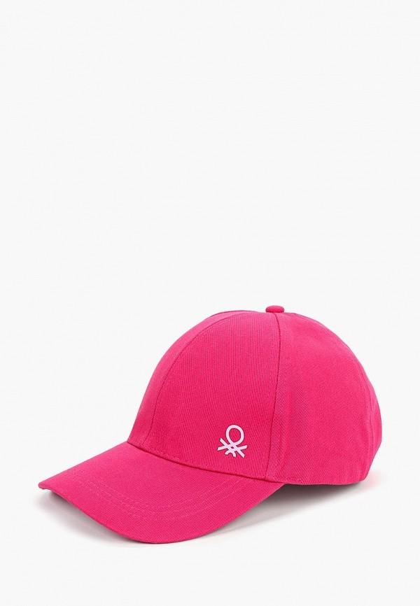 бейсболка united colors of benetton малыши, розовая