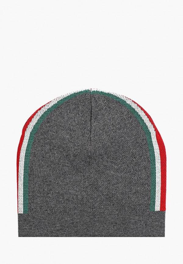 мужская шапка united colors of benetton, серая