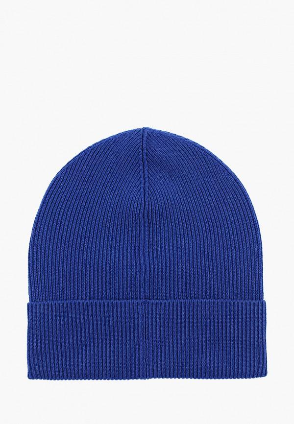 Фото 2 - Мужскую шапку United Colors of Benetton синего цвета