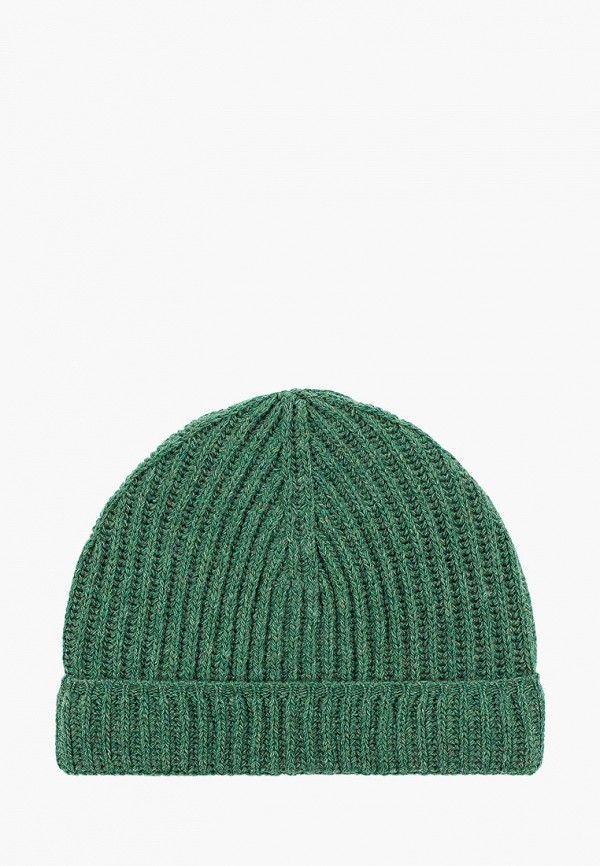 Фото - Мужскую шапку United Colors of Benetton зеленого цвета