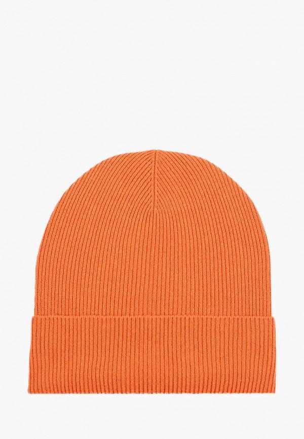 мужская шапка united colors of benetton, оранжевая