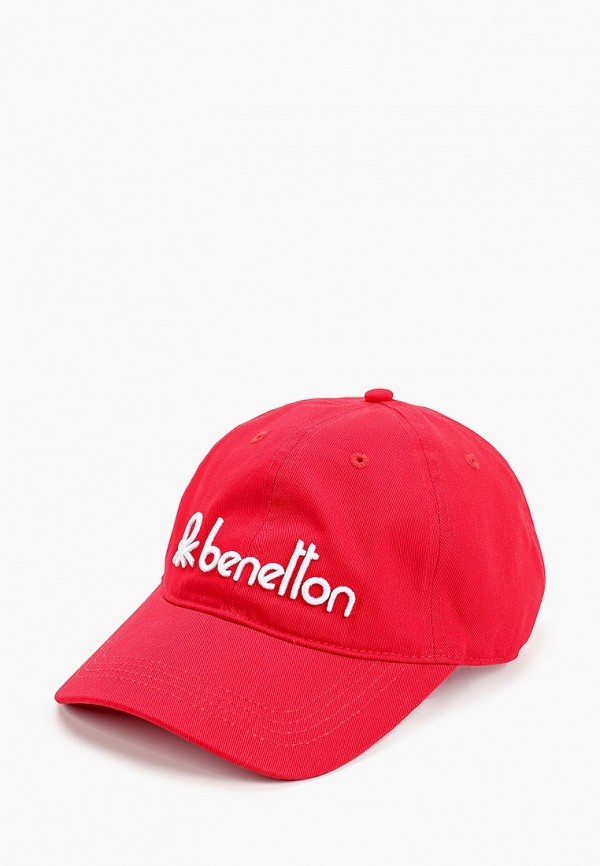 мужская бейсболка united colors of benetton, красная