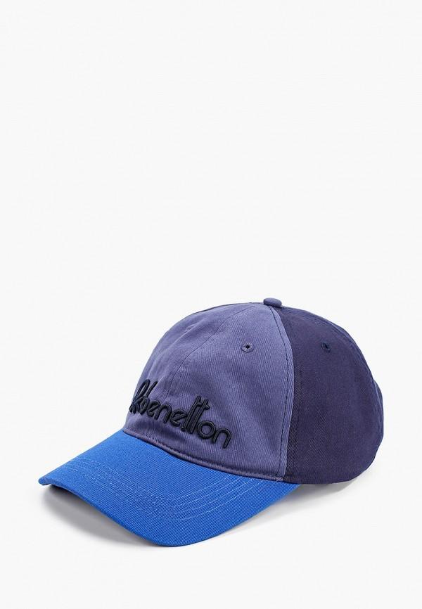 мужская бейсболка united colors of benetton, синяя