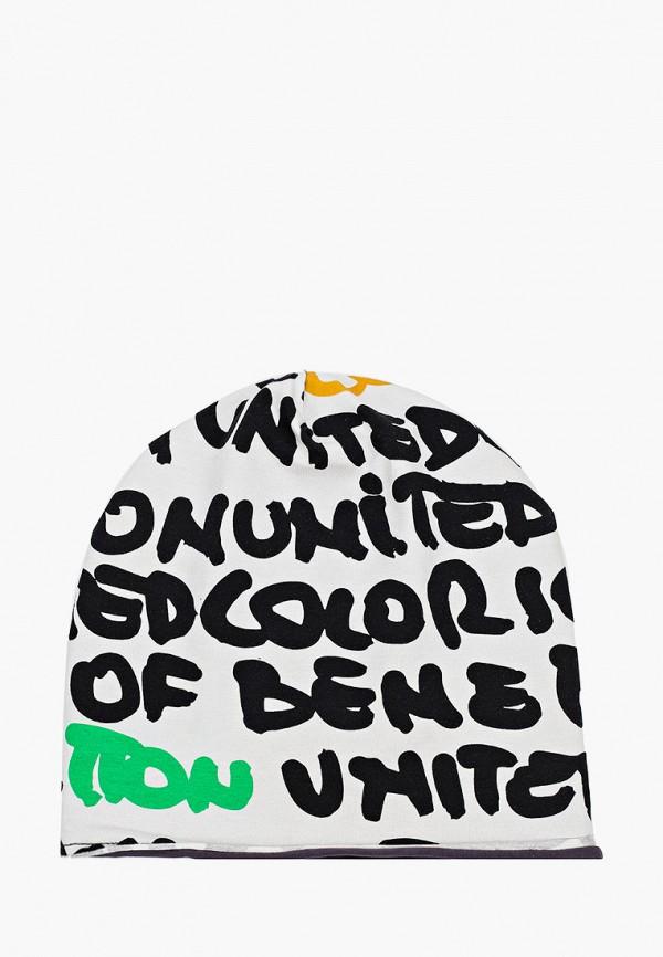 мужская шапка united colors of benetton, белая