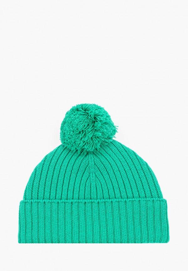 мужская шапка united colors of benetton, бирюзовая