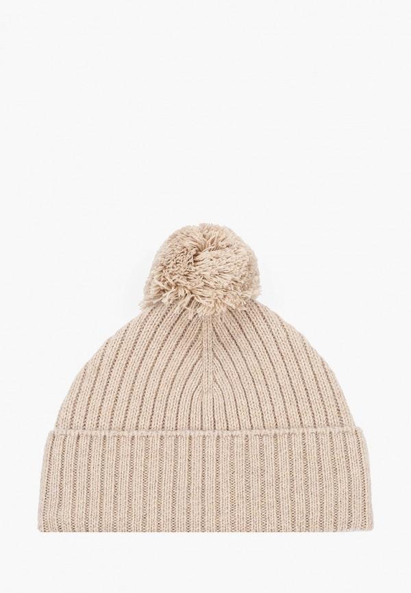 мужская шапка united colors of benetton, бежевая