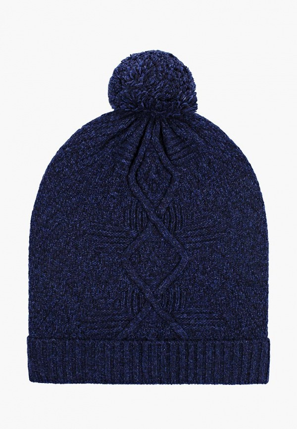 женская шапка united colors of benetton, синяя