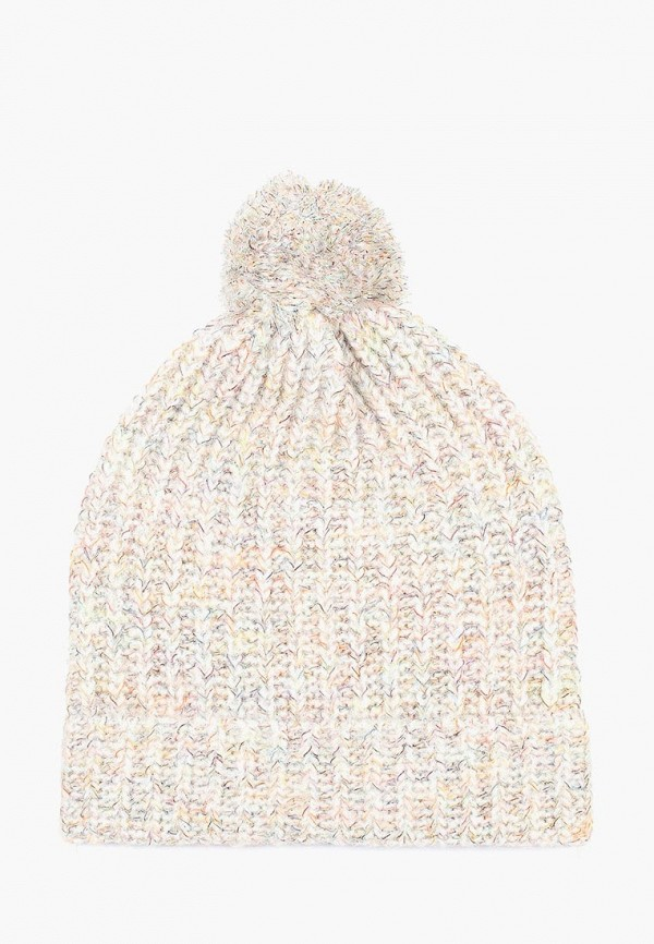 женская шапка united colors of benetton, белая