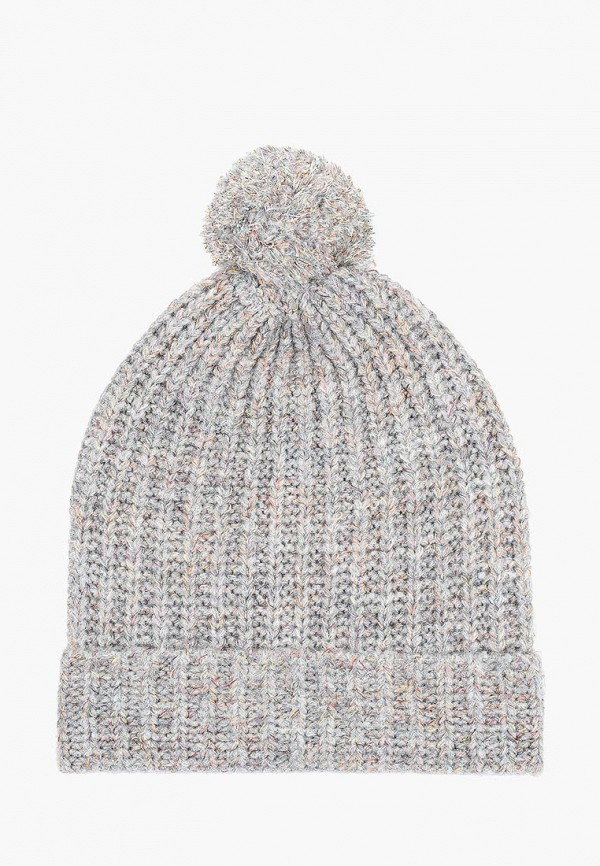 женская шапка united colors of benetton, серая