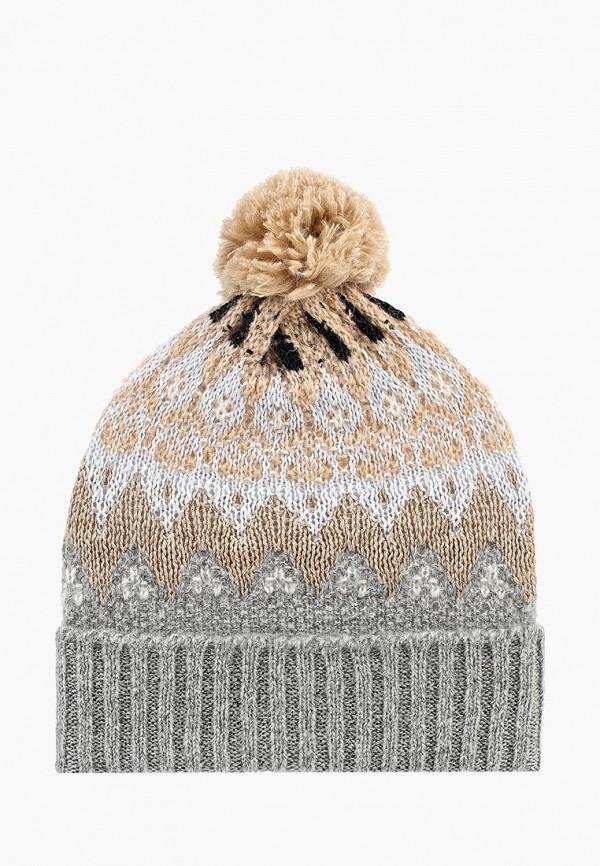 женская шапка united colors of benetton, голубая