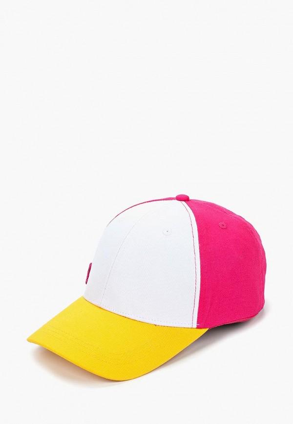 женская бейсболка united colors of benetton, разноцветная