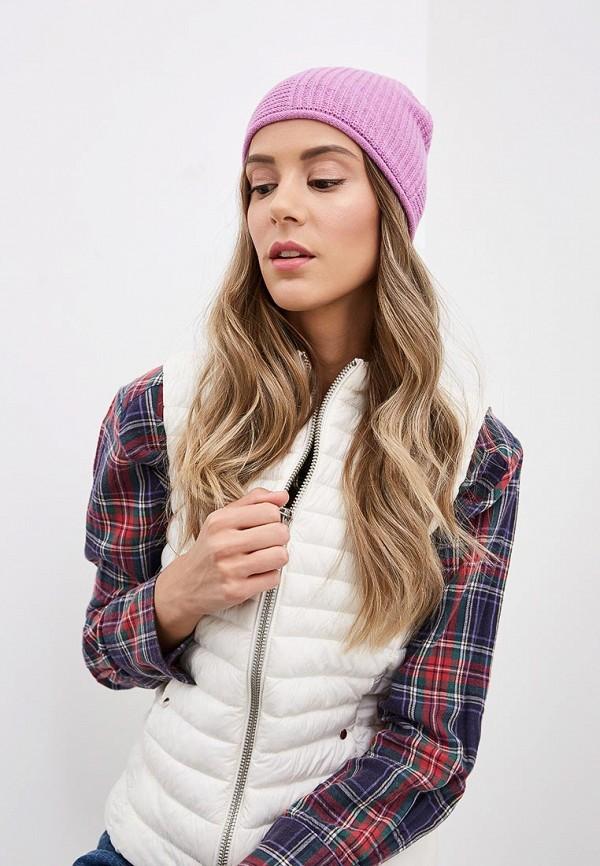 Фото 3 - Женскую шапку United Colors of Benetton розового цвета