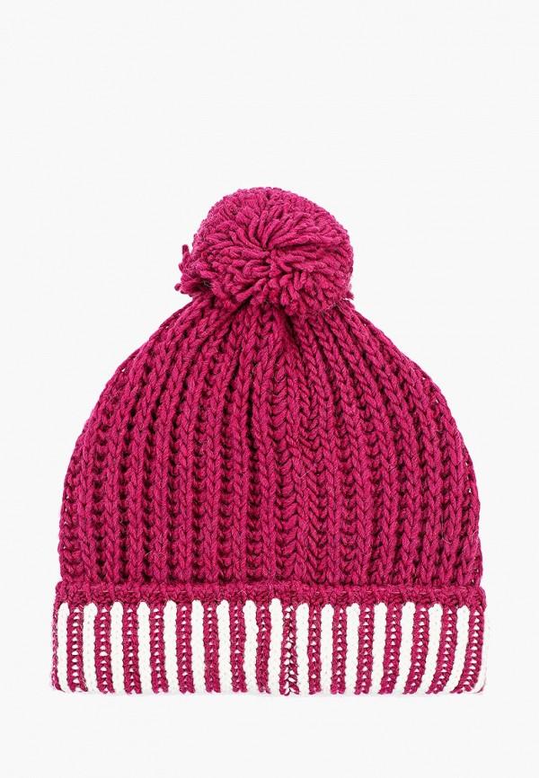 Фото 2 - Женскую шапку United Colors of Benetton розового цвета
