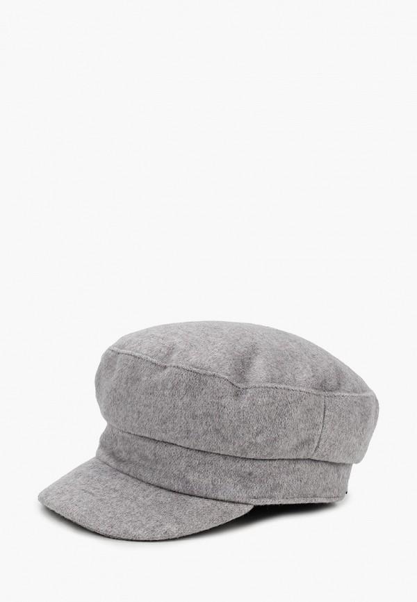 женская кепка united colors of benetton, серая