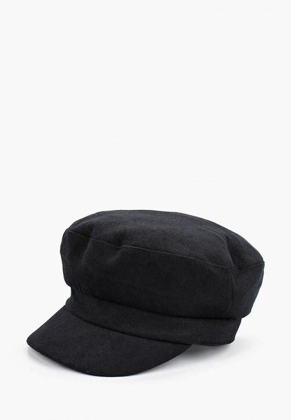 женская кепка united colors of benetton, черная