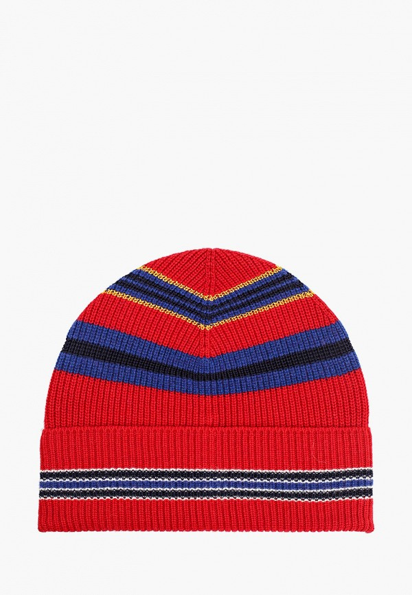 женская шапка united colors of benetton, красная