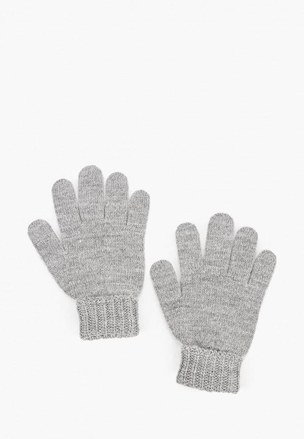 перчатки united colors of benetton для девочки, серые