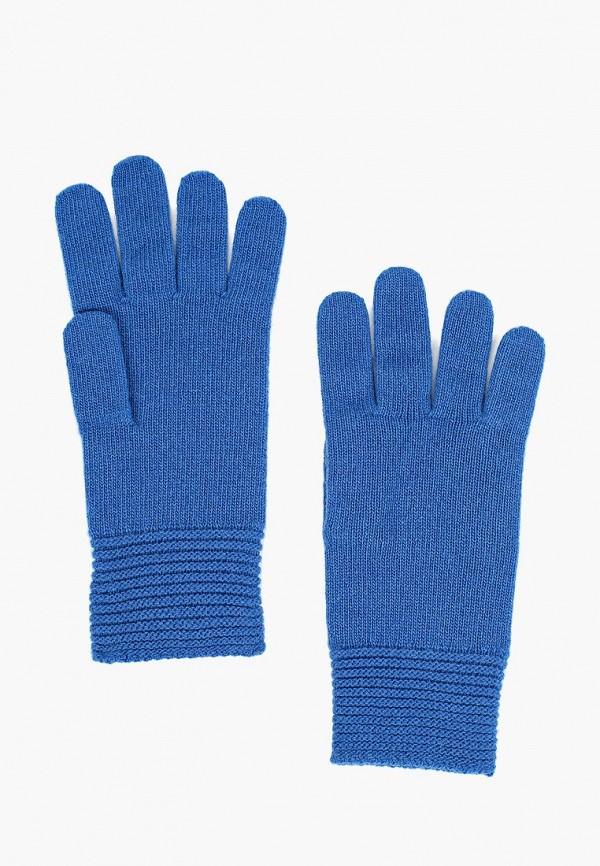женские перчатки united colors of benetton, синие