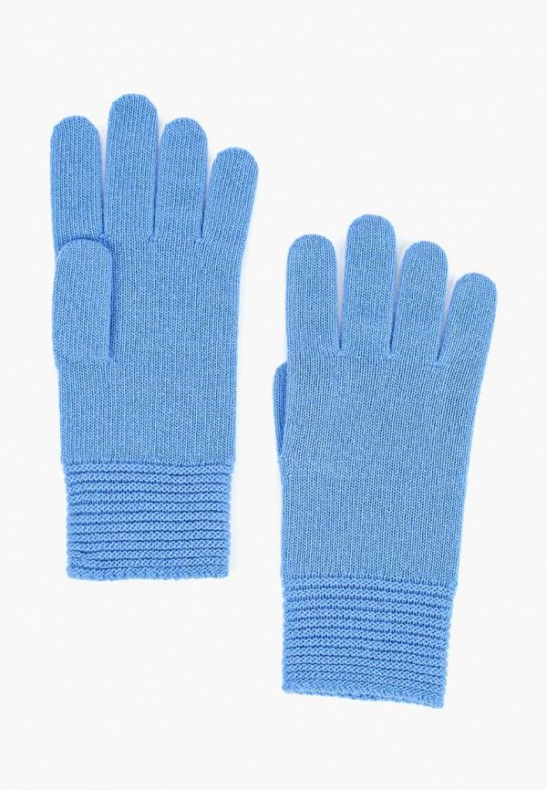 женские перчатки united colors of benetton, голубые