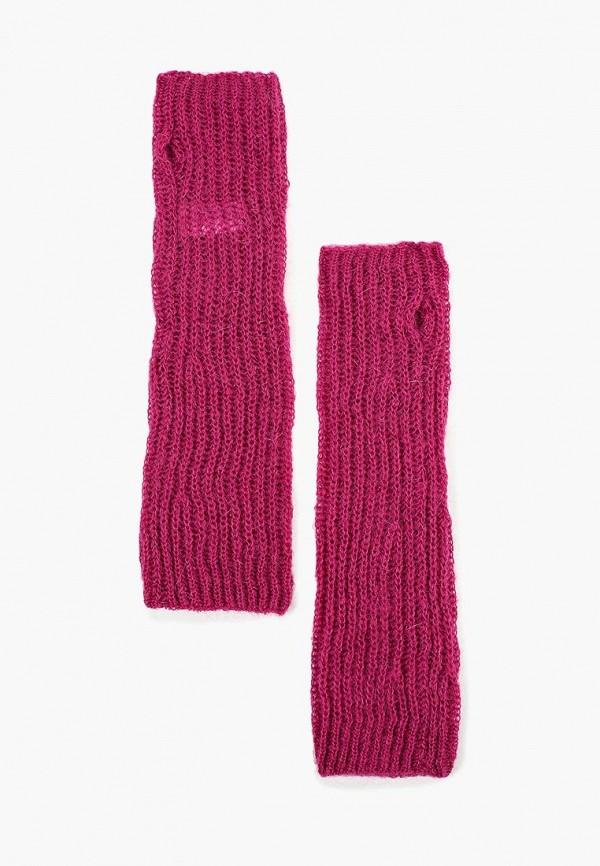 женские митенки united colors of benetton, фиолетовые